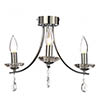 Marquis by Waterford Bandon 3 Light Curved Arm Chandelier Bathroom Ceiling Light profile small image view 1