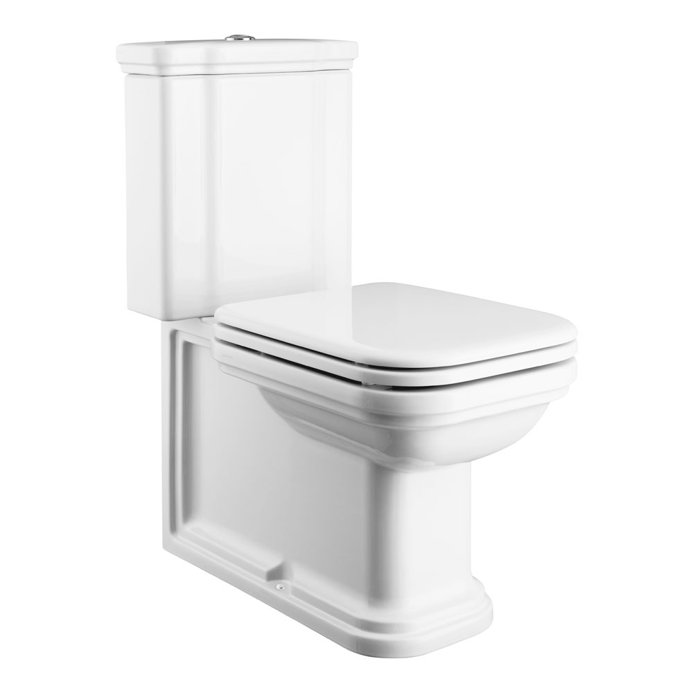 Bauhaus waldorf art deco close coupled toilet at victorian plumbing - Deco wc modern ...