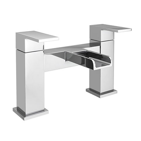 Monza Waterfall Modern Bath Taps