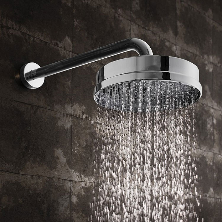 Crosswater - Waldorf 200mm Luxury Round Fixed Showerhead - WF08C profile large image view 2