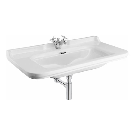 Bauhaus - Waldorf Art Deco 100 Wall Mounted Basin