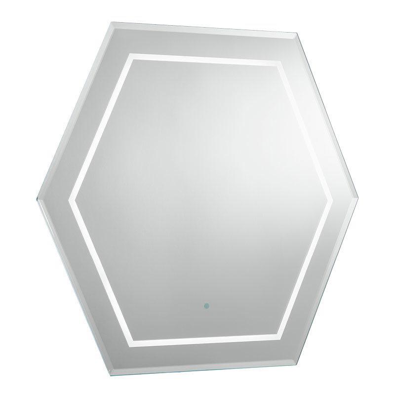 Bauhaus - Waldorf Art Deco Illuminated Mirror - WF6060 profile large image view 1