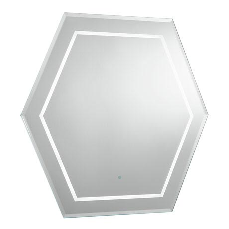 Bauhaus - Waldorf Art Deco Illuminated Mirror - WF6060