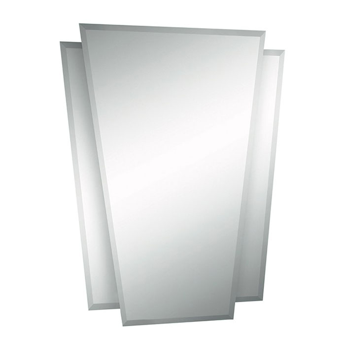 Bauhaus Waldorf Art Deco Bathroom Mirror