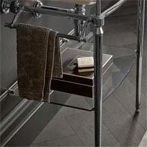 Heritage Abingdon Dorchester Washstand Glass Shelf - WGABDOR Medium Image