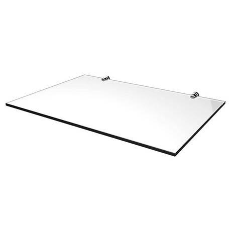 Heritage Abingdon 800mm Wynwood Washstand Glass Shelf - Chrome - WGABWYN8