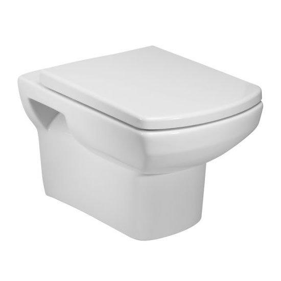 Tavistock Vibe Wall Hung Pan & Soft Close Seat Large Image