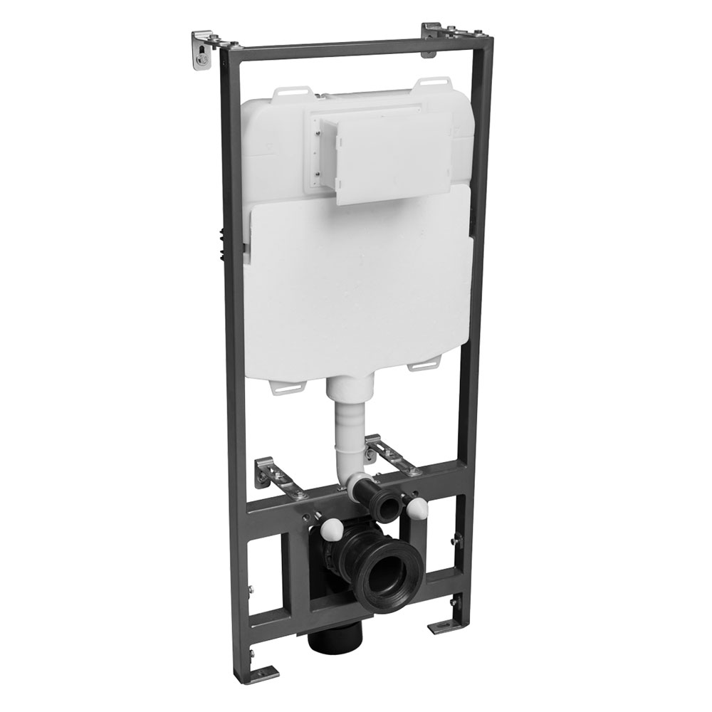Roper Rhodes 1.17m Wall Hung WC Frame 6/3L Flush profile large image view 1