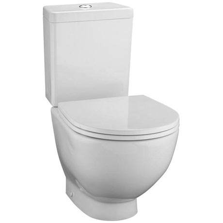 Ideal Standard White Close Coupled WC + Standard Seat