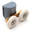 Ella/Newark Top Fixed Runner Wheel - WHL007AA profile small image view 1