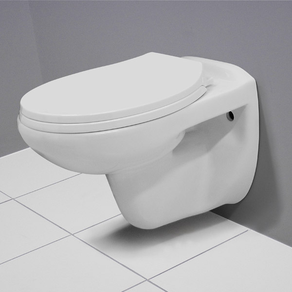 Melbourne Wall Hung Toilet with Soft Close Toilet Seat Large Image