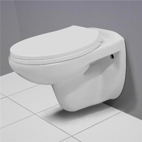 Melbourne Wall Hung Toilet with Soft Close Toilet Seat