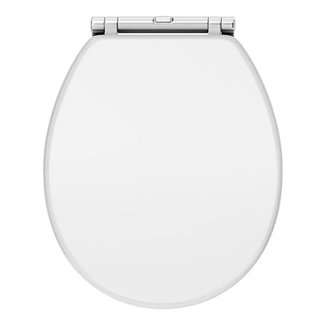 Chatsworth White Soft Close Toilet Seat