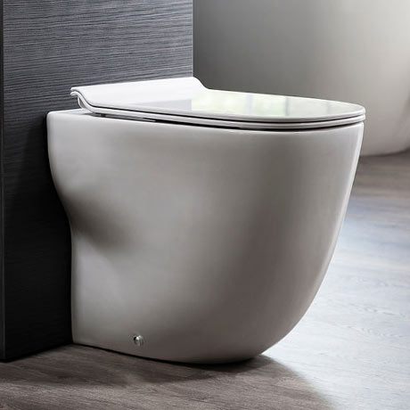 Bauhaus Wild Back to Wall WC + Soft Close Seat
