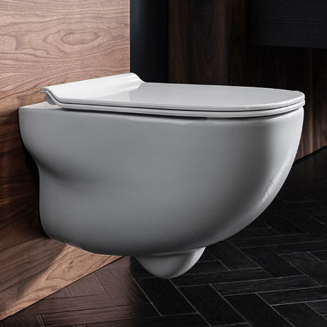 Bauhaus Wild Wall Hung WC + Soft Close Seat
