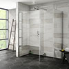 Nova 1700 x 700 Wet Room (Inc. Screen, Side Panel + Return Panel) No Tray profile small image view 1