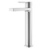 Hudson Reed Willow Tall Mono Basin Mixer + Waste - WIL370 profile small image view 1