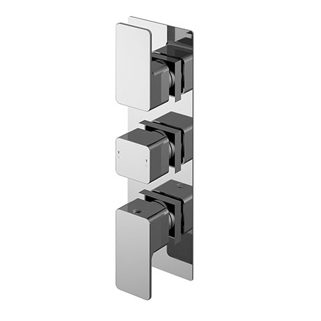 Nuie Windon Triple Concealed Thermostatic Shower Valve - WINTR02