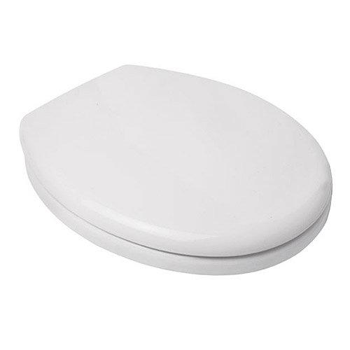 Croydex Safeflush Toilet Seat - White - WL110922H Large Image