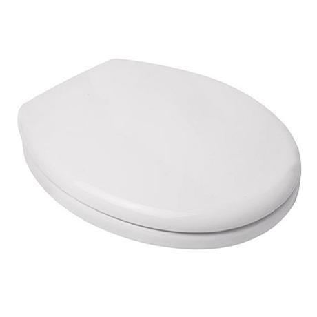 Croydex Safeflush Toilet Seat - White - WL110922H