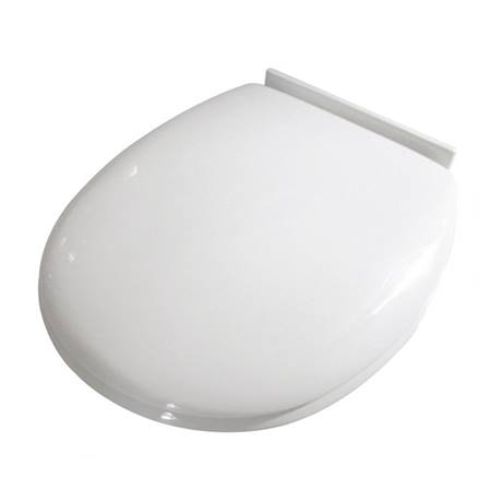 Croydex Anti Bacterial Polypropylene Toilet Seat With Slow