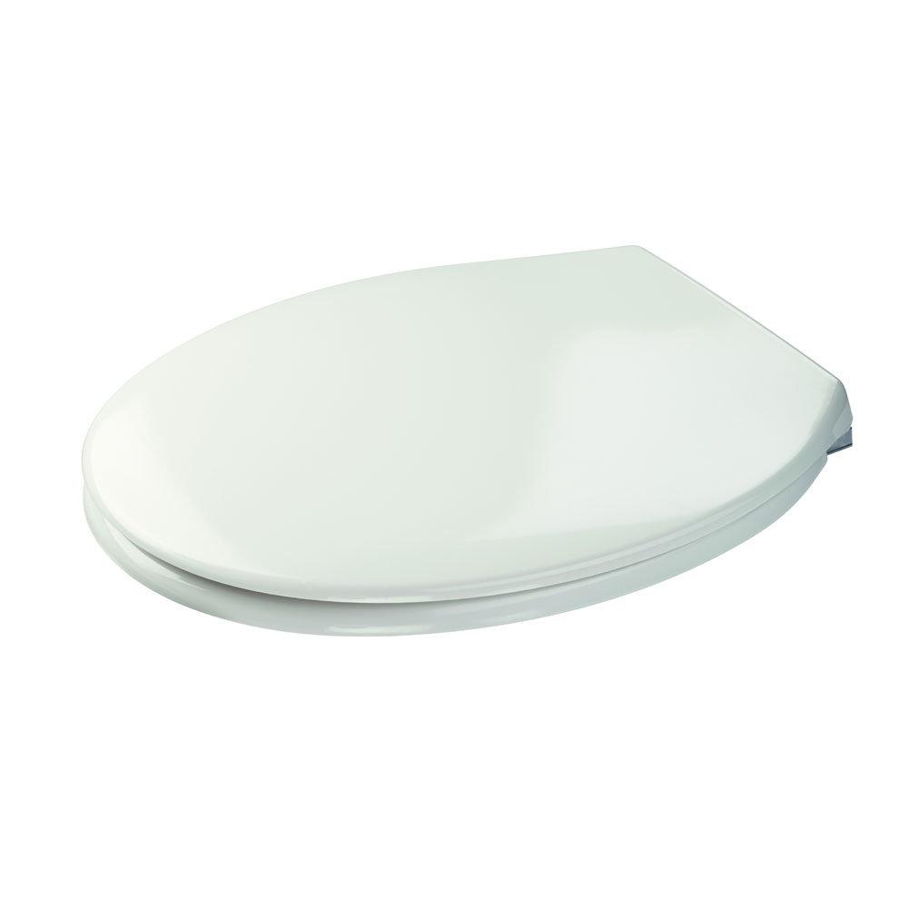 Croydex Sit Tight Morgan White Soft Close Toilet Seat - WL530422H profile large image view 3