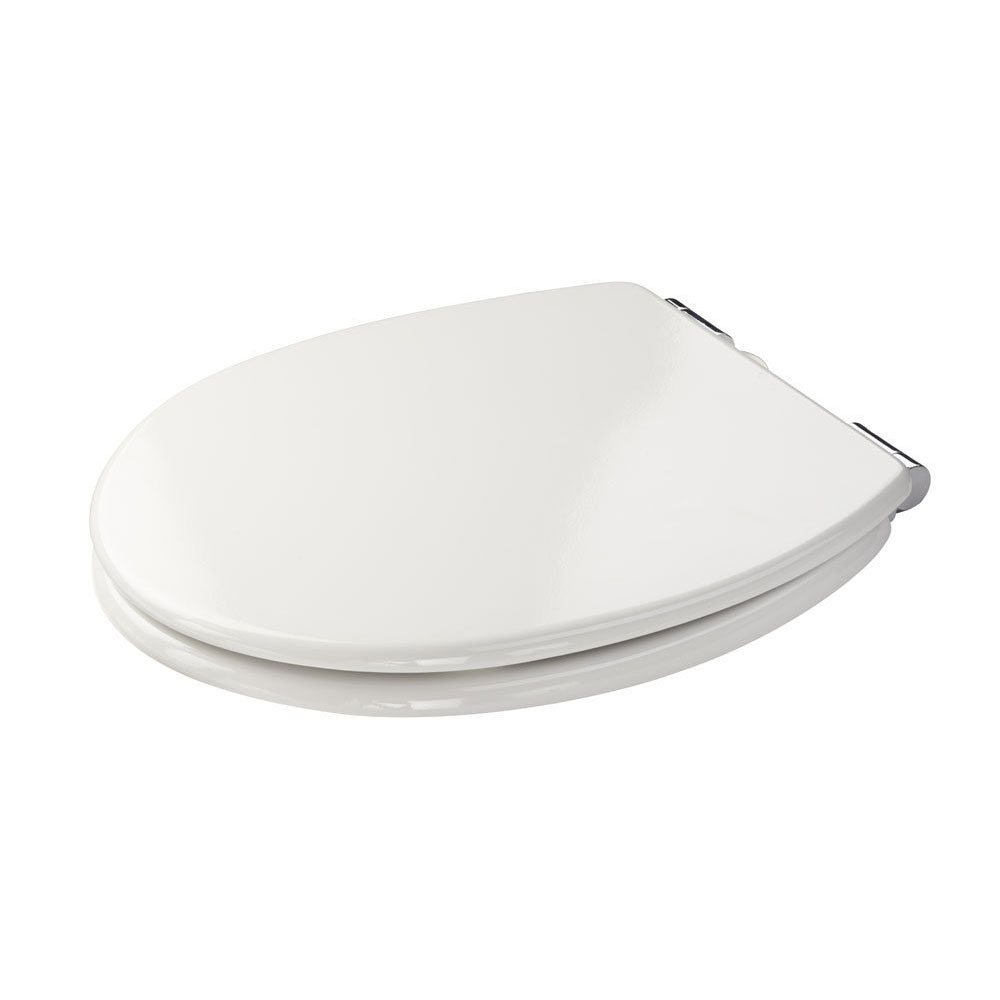 Croydex Sit Tight Dawson White Soft Close Toilet Seat - WL530522H profile large image view 2