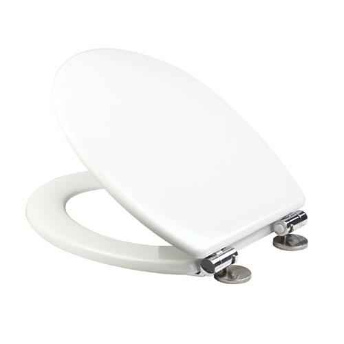 Croydex Sit Tight Dawson White Soft Close Toilet Seat - WL530522H profile large image view 1