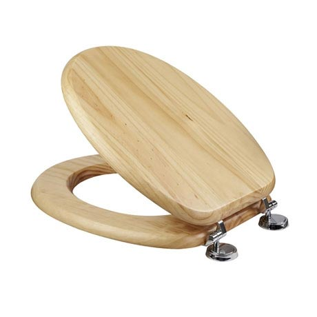 Croydex Sit Tight Douglas Blonded Pine Toilet Seat - WL530671H