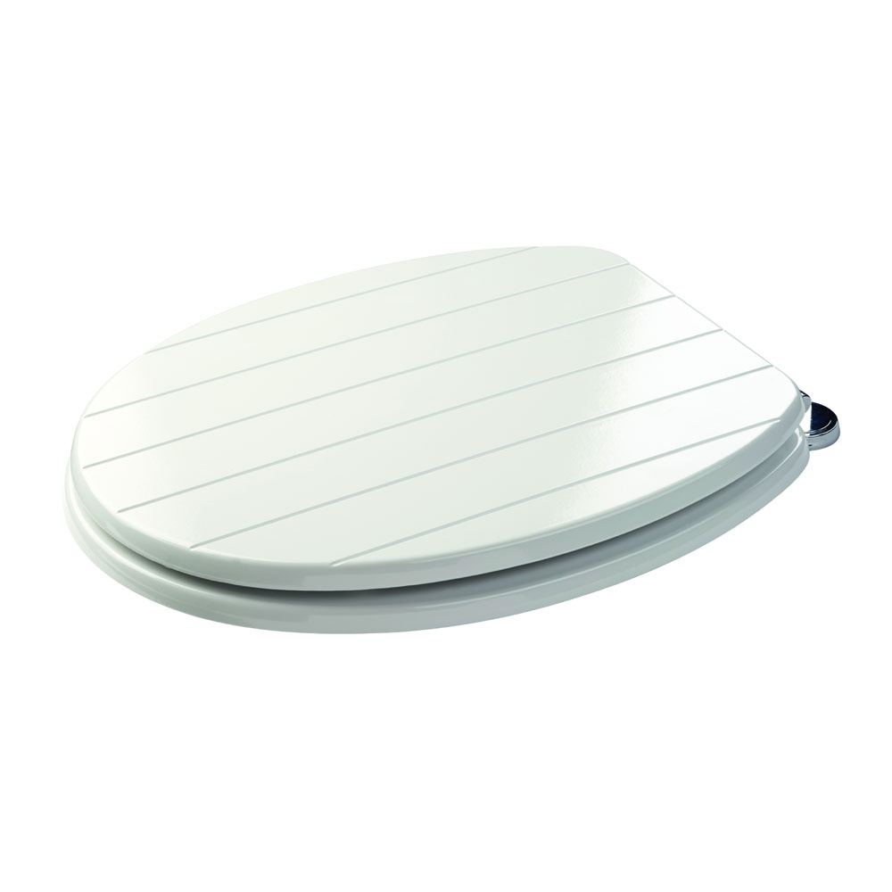 Croydex Sit Tight New England White Toilet Seat - WL530822H Feature Large Image