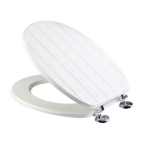 Croydex Sit Tight New England White Toilet Seat - WL530822H Large Image