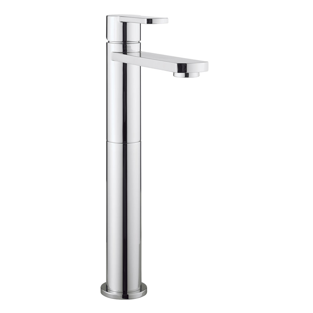 Crosswater - Wisp Tall Monobloc Basin Mixer - WP112DNC profile large image view 1