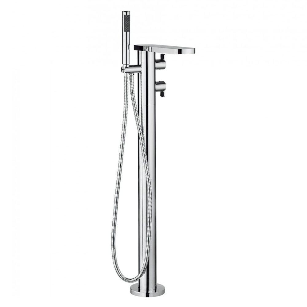 Crosswater - Wisp Thermostatic Bath Shower Mixer with Kit - WP418TFC Large Image