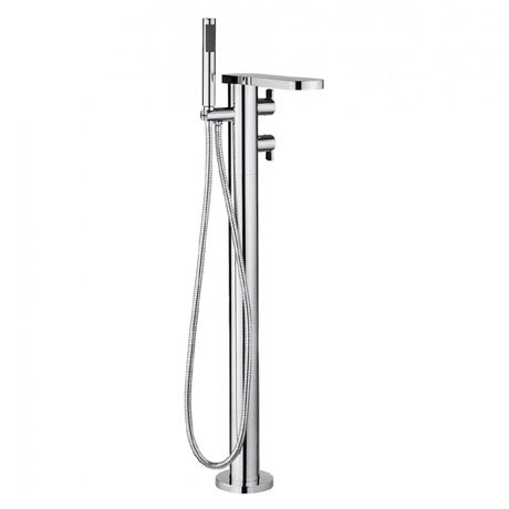 Crosswater - Wisp Thermostatic Bath Shower Mixer with Kit - WP418TFC