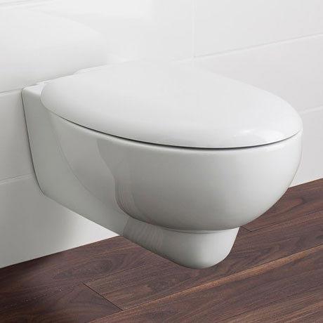Bauhaus - Wisp Wall Hung Pan with Soft Close Seat