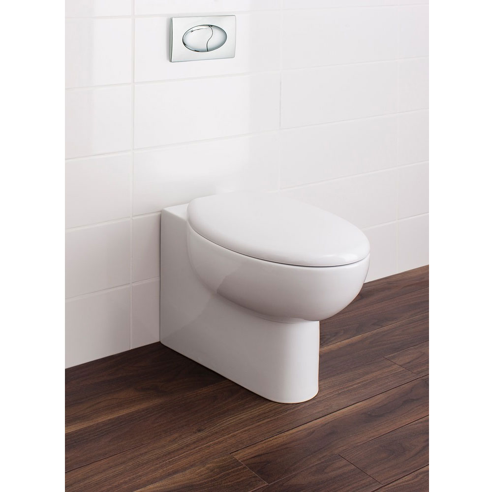 Bauhaus - Wisp Back to Wall Pan with Soft Close Seat Standard Large Image