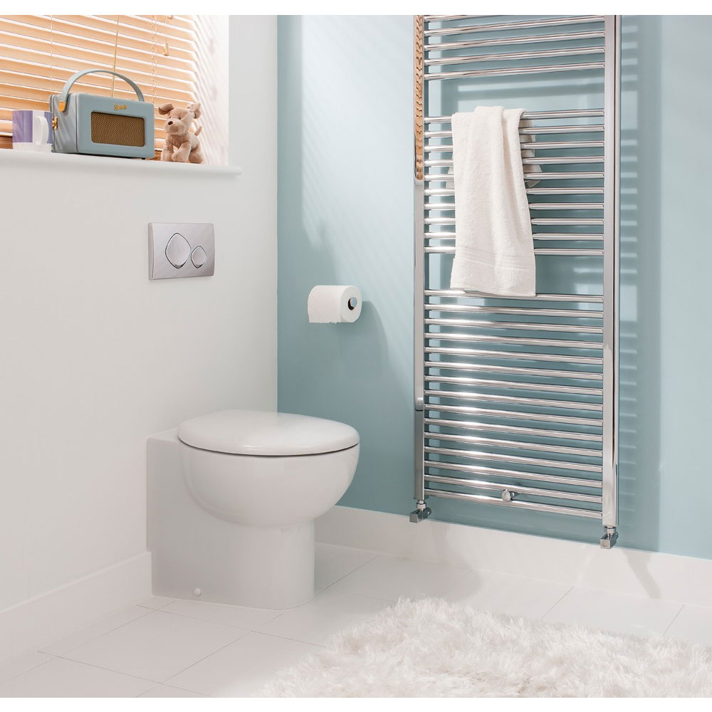 Bauhaus - Wisp Back to Wall Pan with Soft Close Seat Feature Large Image