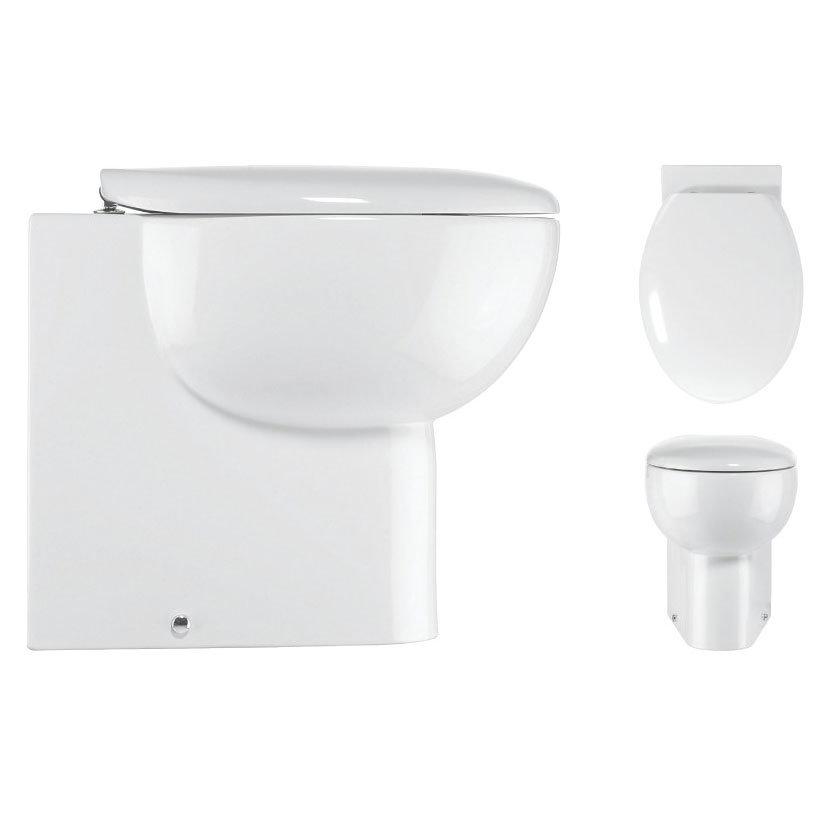 Bauhaus - Wisp Back to Wall Pan with Soft Close Seat Profile Large Image