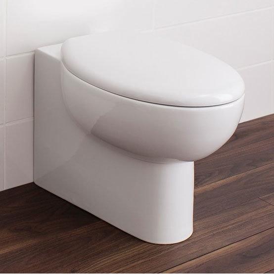 Bauhaus - Wisp Back to Wall Pan with Soft Close Seat Large Image