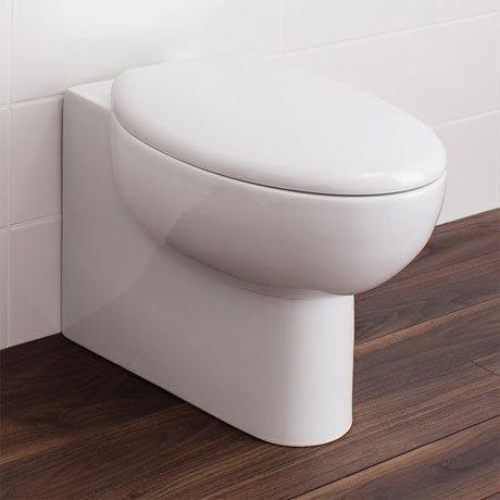 Bauhaus - Wisp Back to Wall Pan with Soft Close Seat