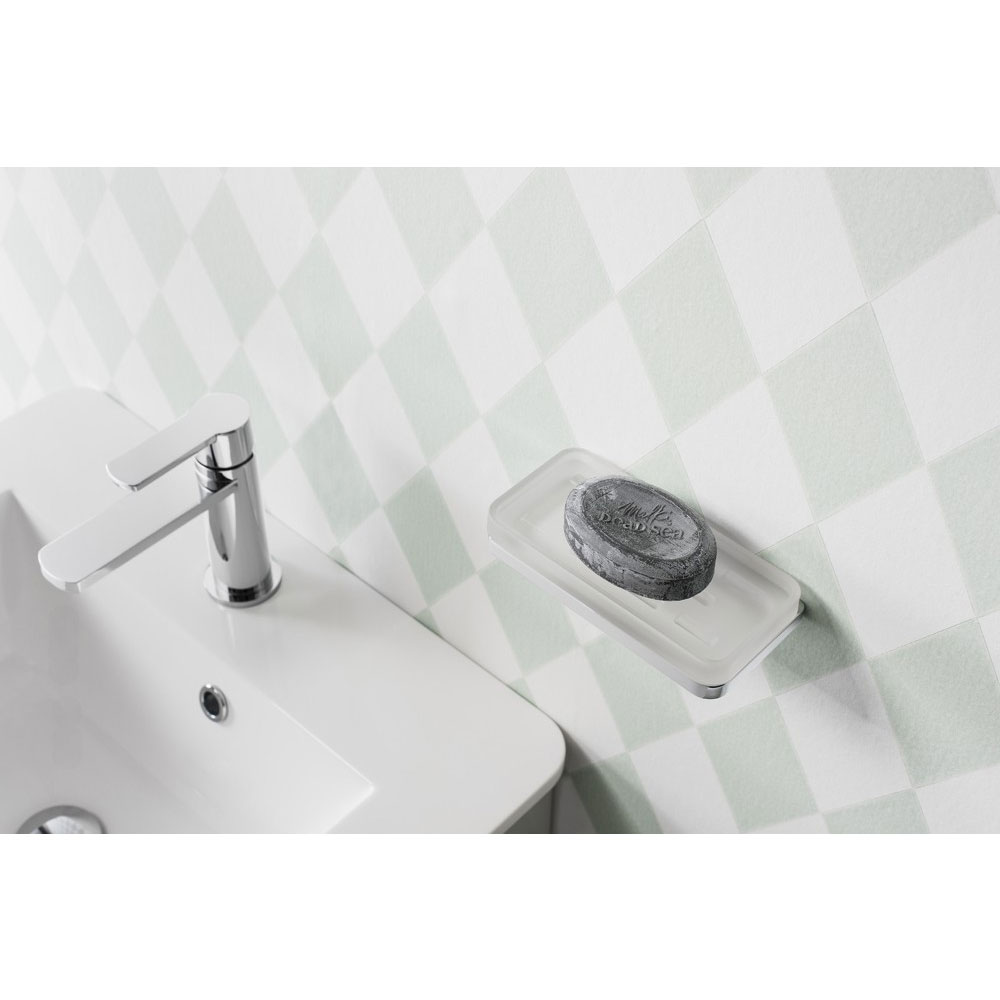 Crosswater - Wisp Double Wall Holder - WP005C profile large image view 3