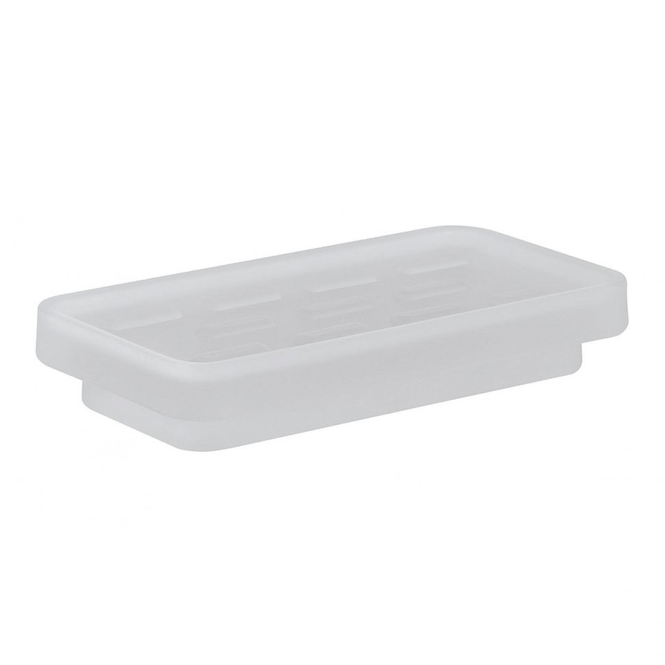 Crosswater - Wisp Frosted Glass Soap Holder - WP_DISH Large Image