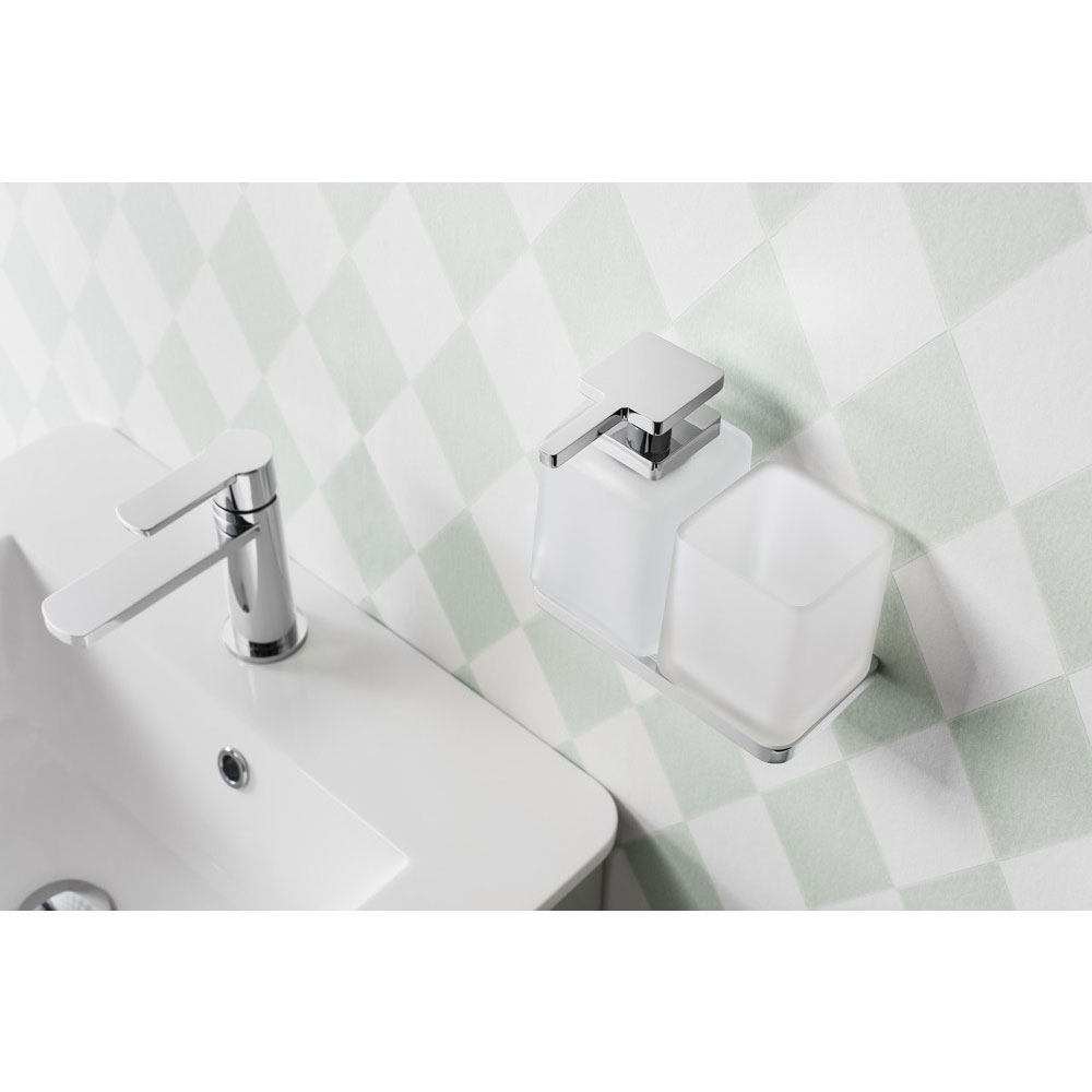Crosswater - Wisp Frosted Glass Soap Dispenser - WP_DISP profile large image view 3