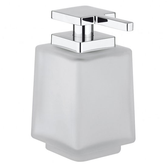 Crosswater - Wisp Frosted Glass Soap Dispenser - WP_DISP Large Image