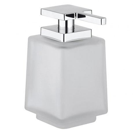 Crosswater - Wisp Frosted Glass Soap Dispenser - WP_DISP