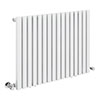 Alaska Modern 600 x 800 Horizontal White Square Radiator 16 Tubes profile small image view 1