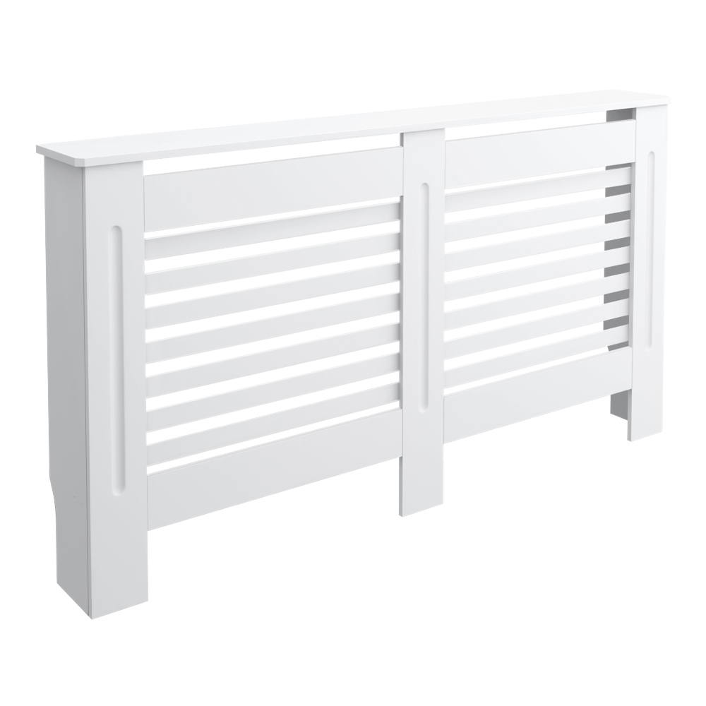 Carlton H820 x W1520mm White Radiator Cover