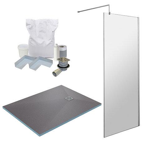 1200 x 900 Wet Room Pack - Chrome