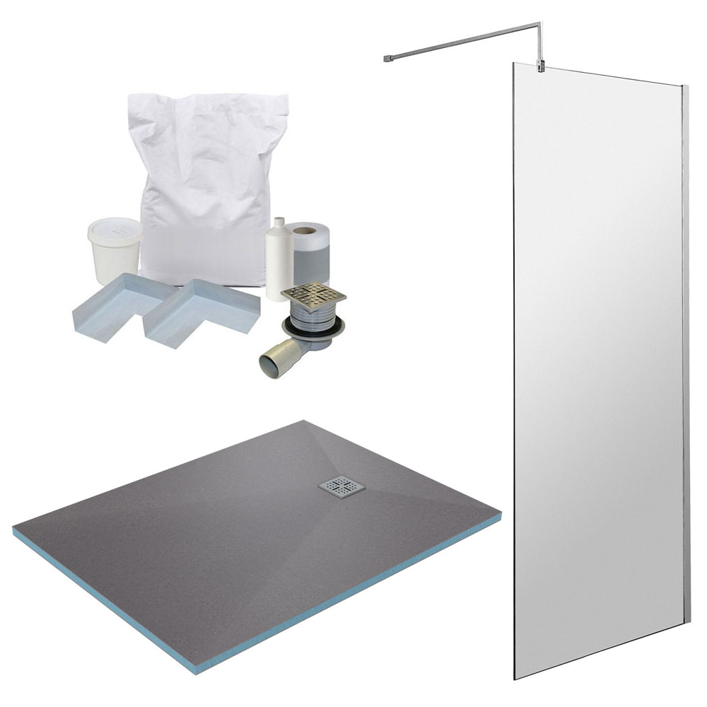1400 x 900 Wet Room Pack - Chrome