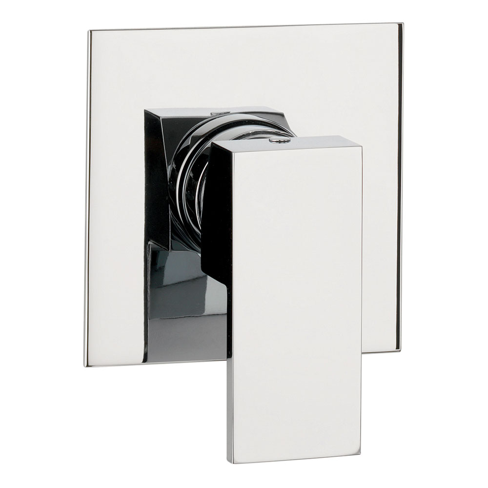 Crosswater - Water Square Concealed Manual Shower Valve - WS0004RC Large Image